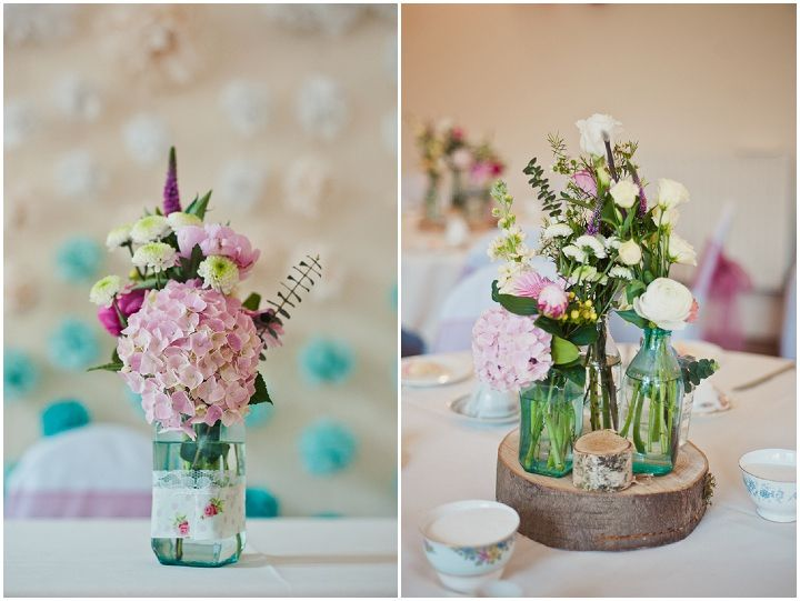 Kate and Andy's Pretty Pink and Blue Homemade Wedding. By Emma B Photography