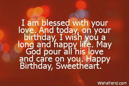 Boyfriend Birthday Messages - Page 2