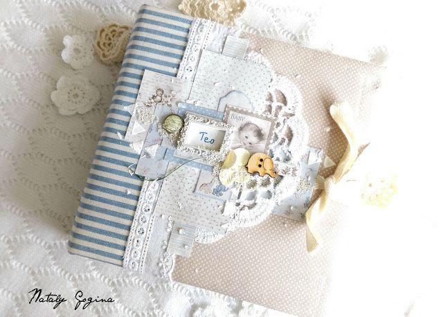 Фабрика декора: Детский скрап. Вдохновение от Nataly Gogina