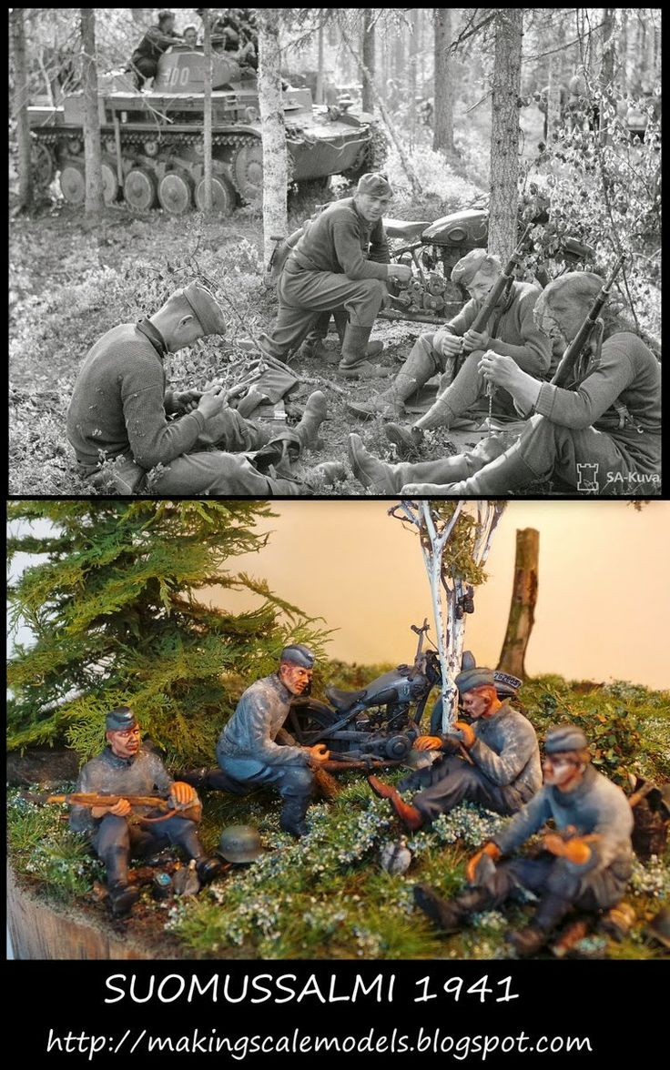 #diorama #wwii #scalemodels #worldwarII  http://makingscalemodels.blogspot.fi/2014/05/this-is-my-first-time-to-make-something.html