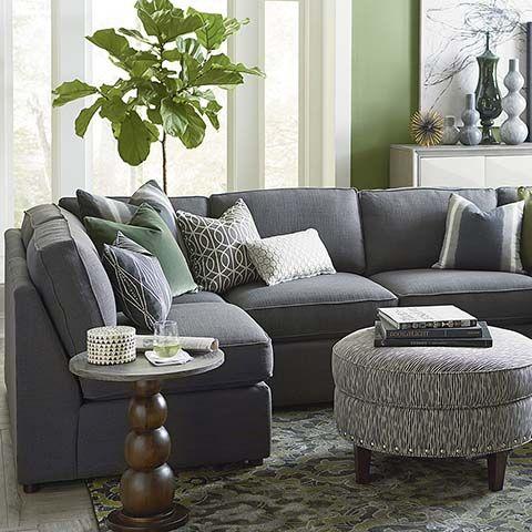 U Shaped Sectional Beckie Bassett Furniture SofasDiapersLiving Room