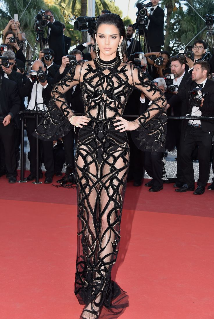 Cannes Fashion 2016 - Kendall Jenner in Roberto Cavalli