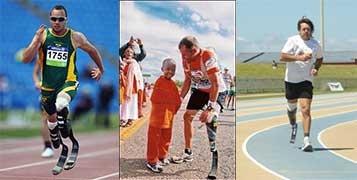 Running a Marathon with prosthetic legs
