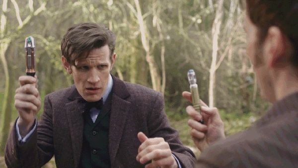 It's David Tennant vs Matt Smith in a hilarious Doctor Who convention war