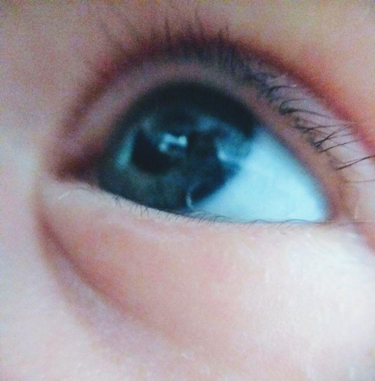 My baby's eye 😊