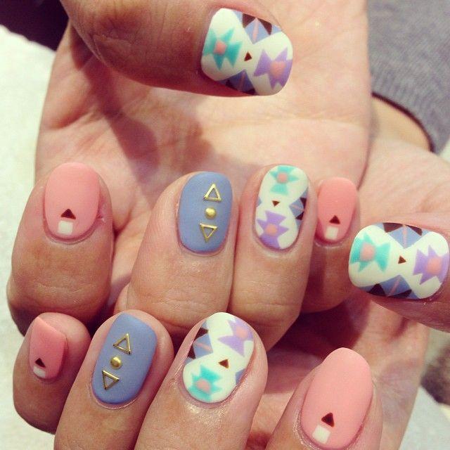 hipster nails pinterest - photo #10