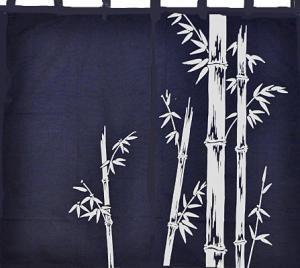 Noren-Bamboo Half Door
