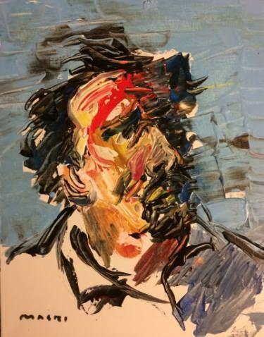 "Saatchi Art Artist Masri Hayssam; Painting, ""Self Portrait"" #art"