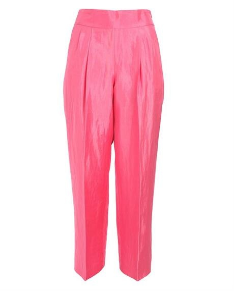 Pheonix Slubbed Satin Trousers - Lyst