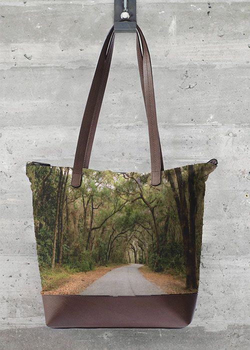 Foldaway Tote - brownish by VIDA VIDA