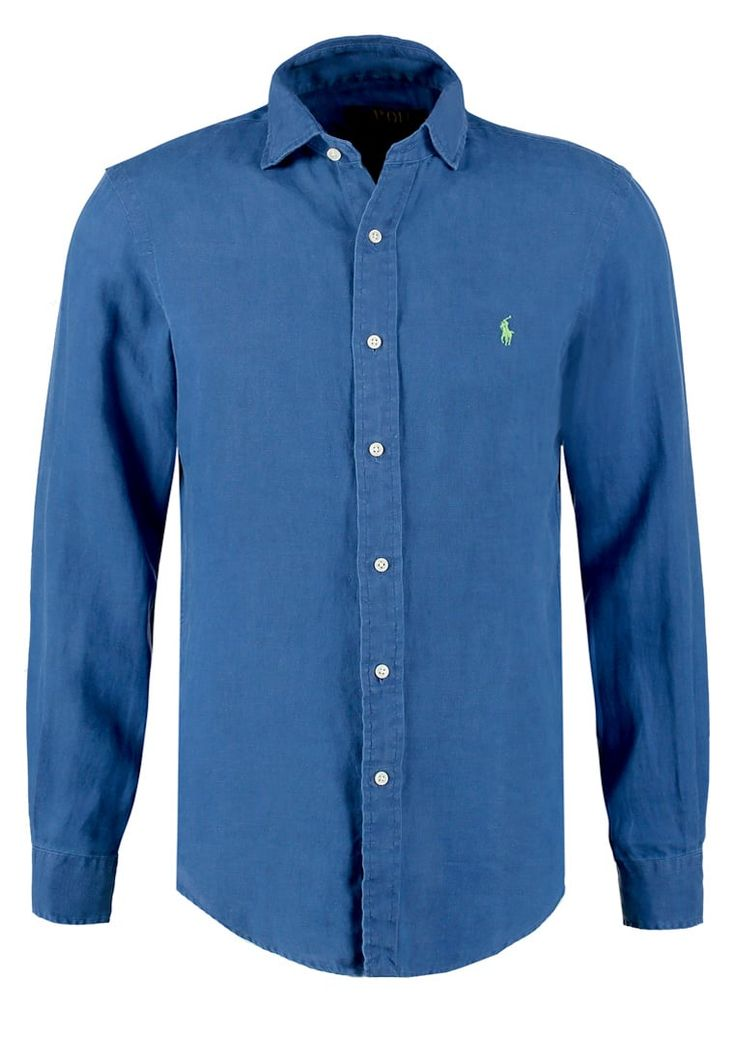 Polo Ralph Lauren SLIM FIT Hemd chalet blue Premium bei Zalando.de | Material Oberstoff: 100% Leinen | Premium jetzt versandkostenfrei bei Zalando.de bestellen!