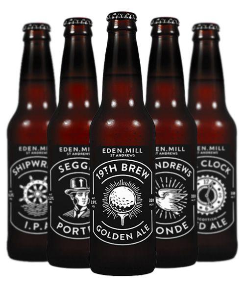 Eden Mill small batch beer PD