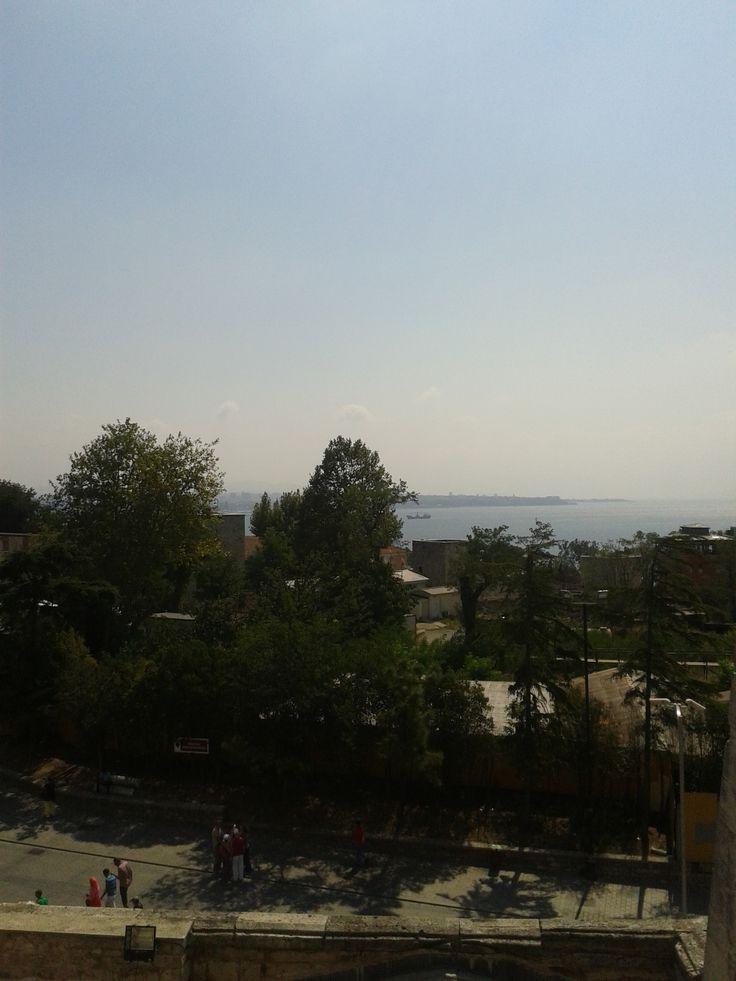 Bosphorus from Agia Sophia