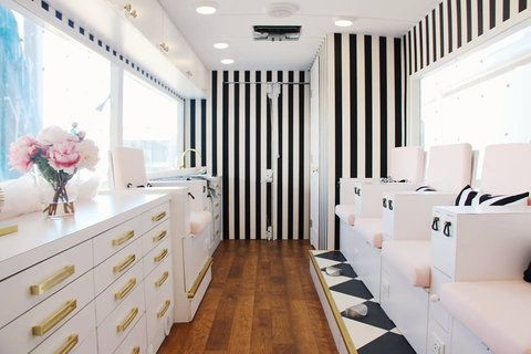 This Nail Salon Truck Will Actually Drive to Wherever You Are from InStyle.com