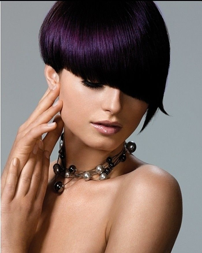 Dark Purple Black Hair Color