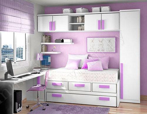 Мебель для детской двухцветная