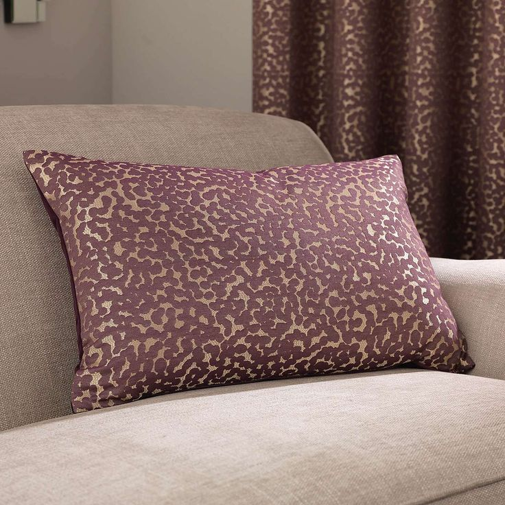 5A Fifth Avenue Madison Plum Cushion | Dunelm