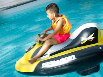 Mini Jet Skis activity for Age: 3 — 7 years at Center Parcs UK