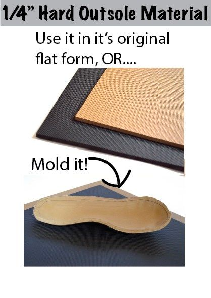 Material for adding a sole to handmade shoes - neat idea since I go through ballet flats like nobody's biz