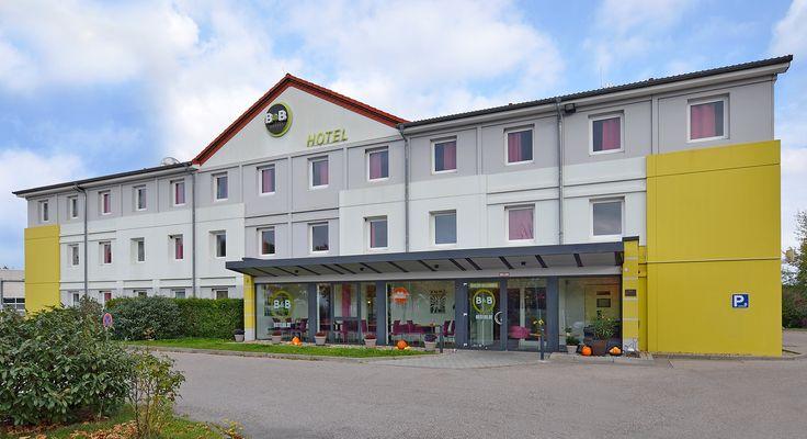 Außenansicht des B&B Hotels #Ingolstadt