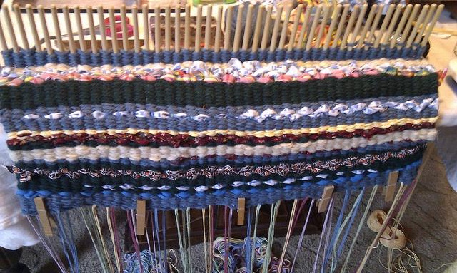 peg loom weaving instructions