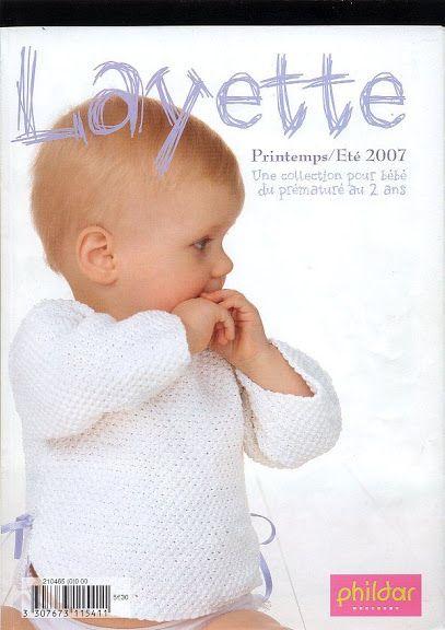 phildar n°465 Layette printemps-été 2007*