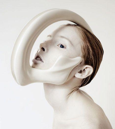 Ana Rajcevic's incredible animalistic head pieces