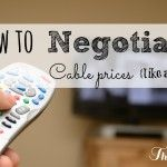 How to negotiate cable prices {like a pro} - I am THAT Lady
