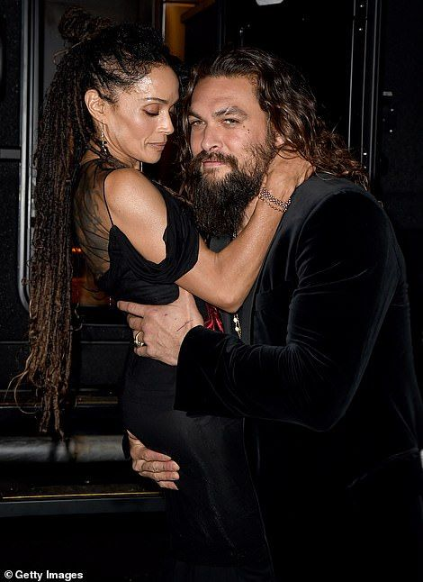 PDA alert! Jason Momoa, 39, and wife Lisa Bonet, 51, looked more in love than ever at the Hollywood premiere of Aquaman in Los Angeles on Wednesday