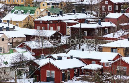Skandinávská architektura — Stock obrázek #29286049