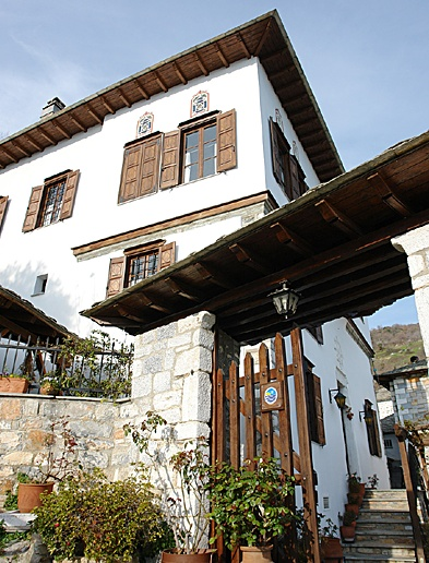 Repana Mansion to Makrinitsa Pelion Greece