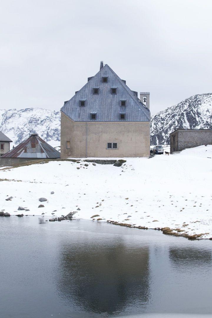 Miller Maranta, Hospice Renovation, St. Gotthard-Pass, 2011  www.millermaranta.ch/
