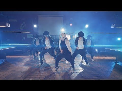 Beat it- Michael Jackson  tribute by West Springfield Dance Team - YouTube