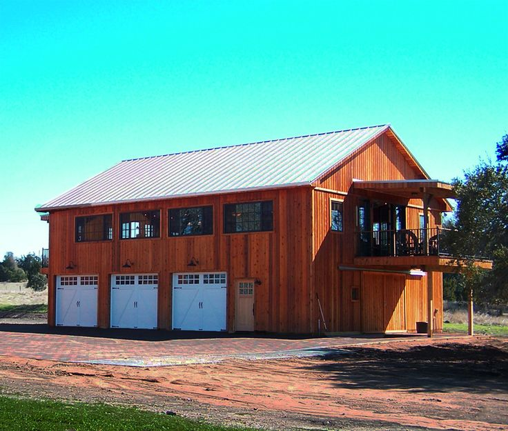 93+ Wood Pole Barn Kits - Steel Frame Pole Barns, Full