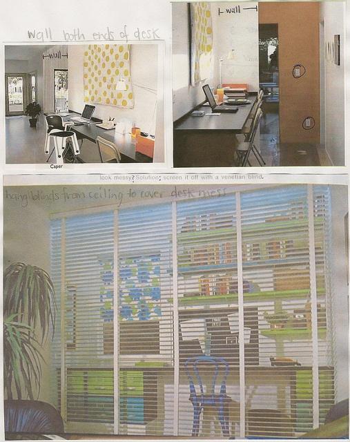 Homeschool Hallway Office