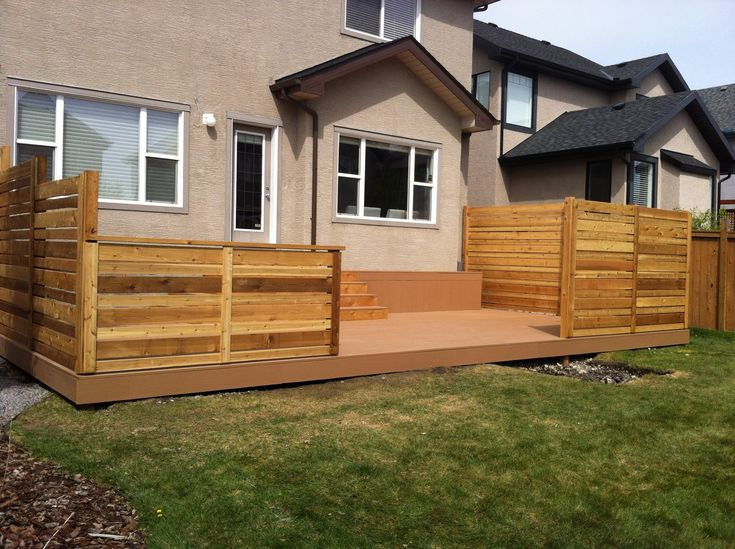 42 best images about backyard privacy on pinterest hot for Backyard deck privacy ideas