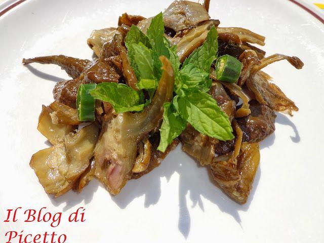 Il Blog di Picetto: Codicine di melanzane (antica ricetta calabrese)