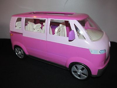 Barbie Happy Family Doll Volkswagen Microbus Vw Bus Van