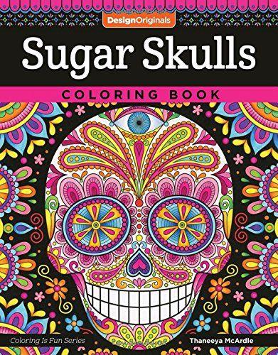 sugar skull coloring pages thaneeya - photo#19