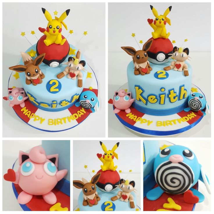 Eevee Cake Toppers