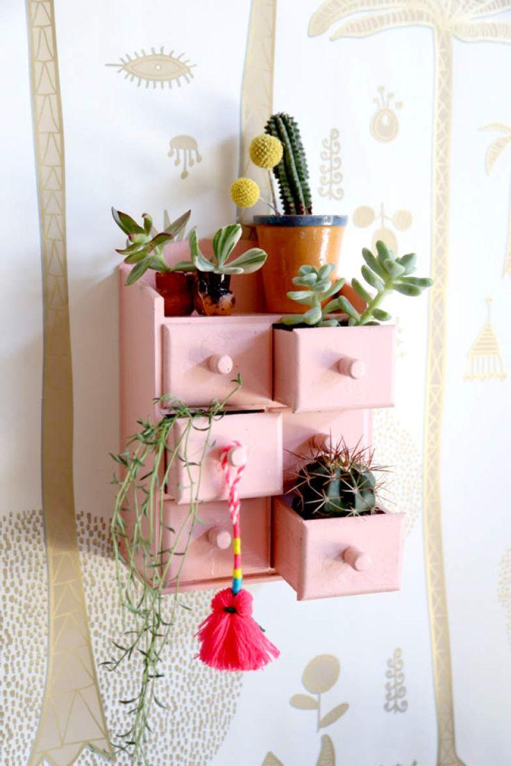 Você precisa de poucas coisas (e pouco espaço) para ganhar um elemento decorativo lindo para sua casa