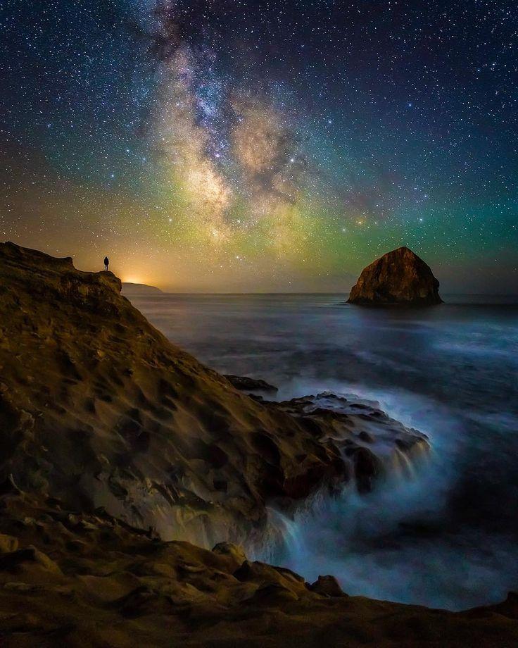 "Pacific City (Oregon) by Austin Jackson (@austinjackson29) on Instagram: ""Stargazing along the Oregon Coast..."""