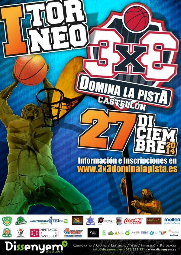 I Torneo 3x3 Domina la Pista. 2014