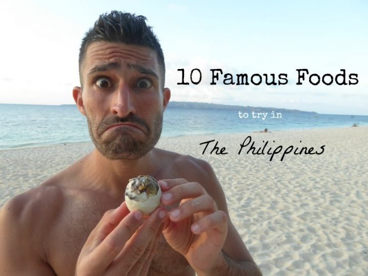 10 famous foods you must try in the Philippines