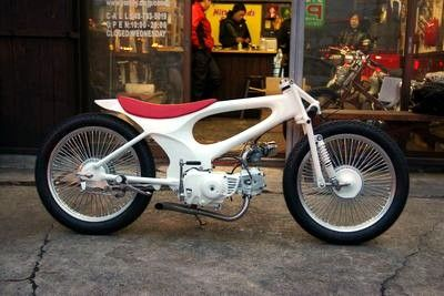 "custom HONDA supercub ""UNICONE"""