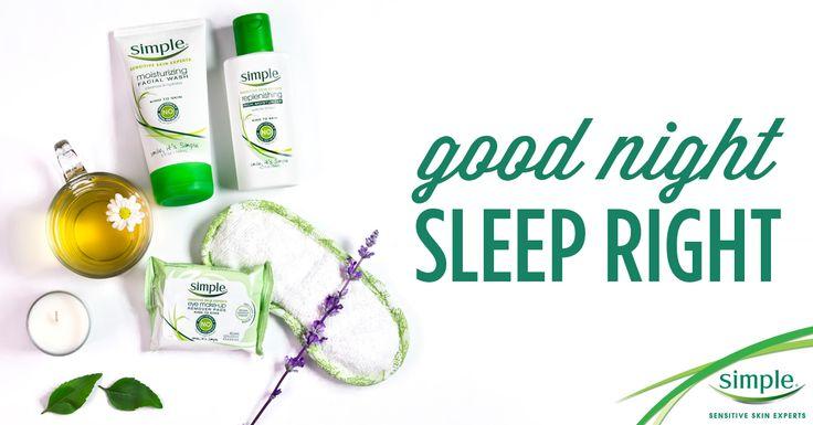 5 Steps to Sound Sleep & Glowing Skin from @simpleskincare and @ramshackleglam!