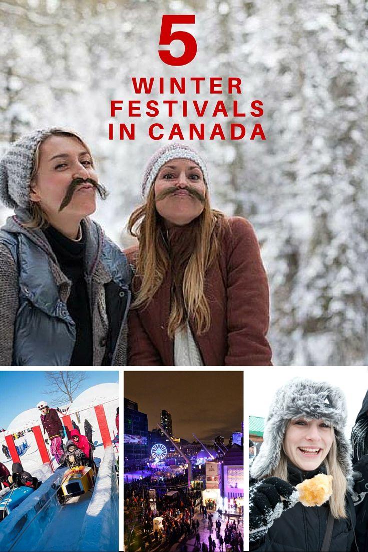 5 Winter Festivals in Canada #explorecanada