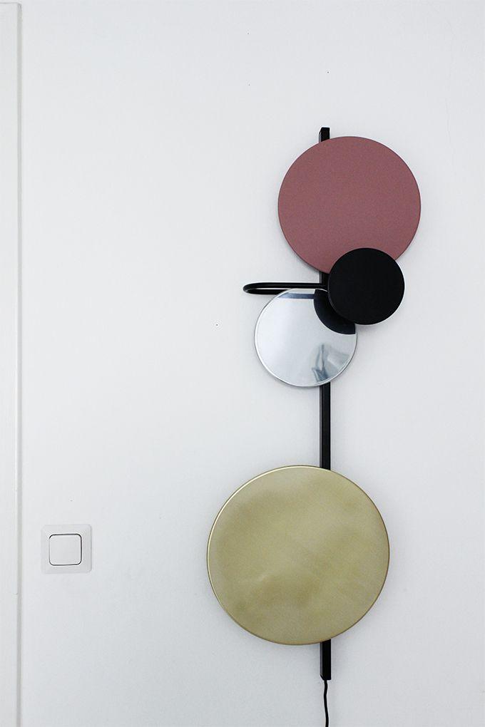 Planet-lamp, design Mette Schelde