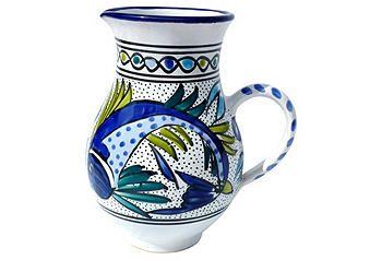 Tunisian Tableware | One Kings Lane  sc 1 st  Pinterest & 16 best Tunisian Ceramics images on Pinterest | Dishes Aqua and ...