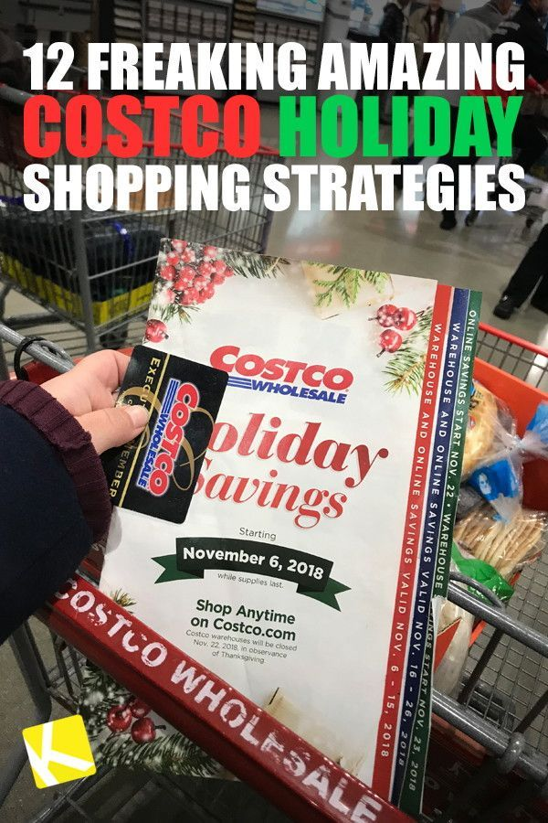 12 Freaking Amazing Costco Holiday Shopping Strategies Costco